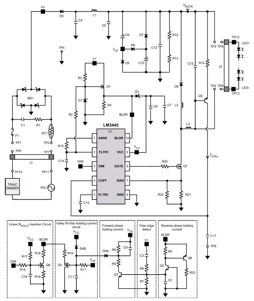 Diagrams Of Wiring A Triac Dimmable Driver How To Connect