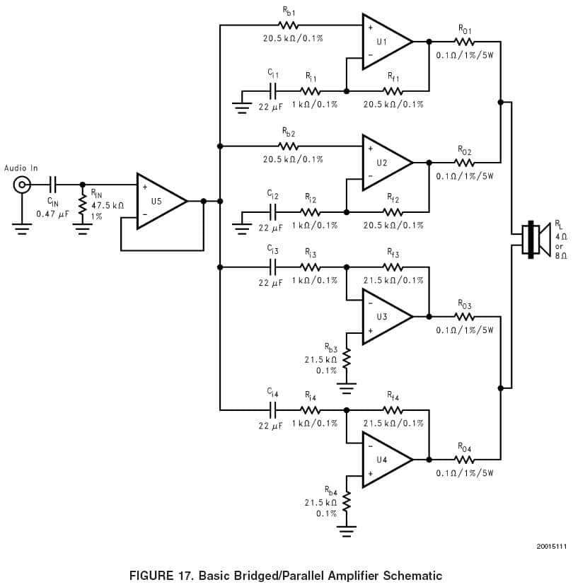 circuit diagram of home theater 2001 f150 starter wiring lm3886: #3) bpa200 - 200w bridged/parallel ab amp | digikey electronics