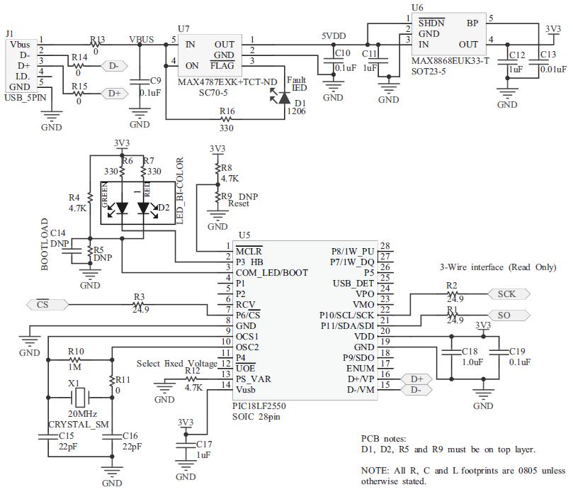MAX31855EVKIT#: 14-bit Thermocouple Interface SPI