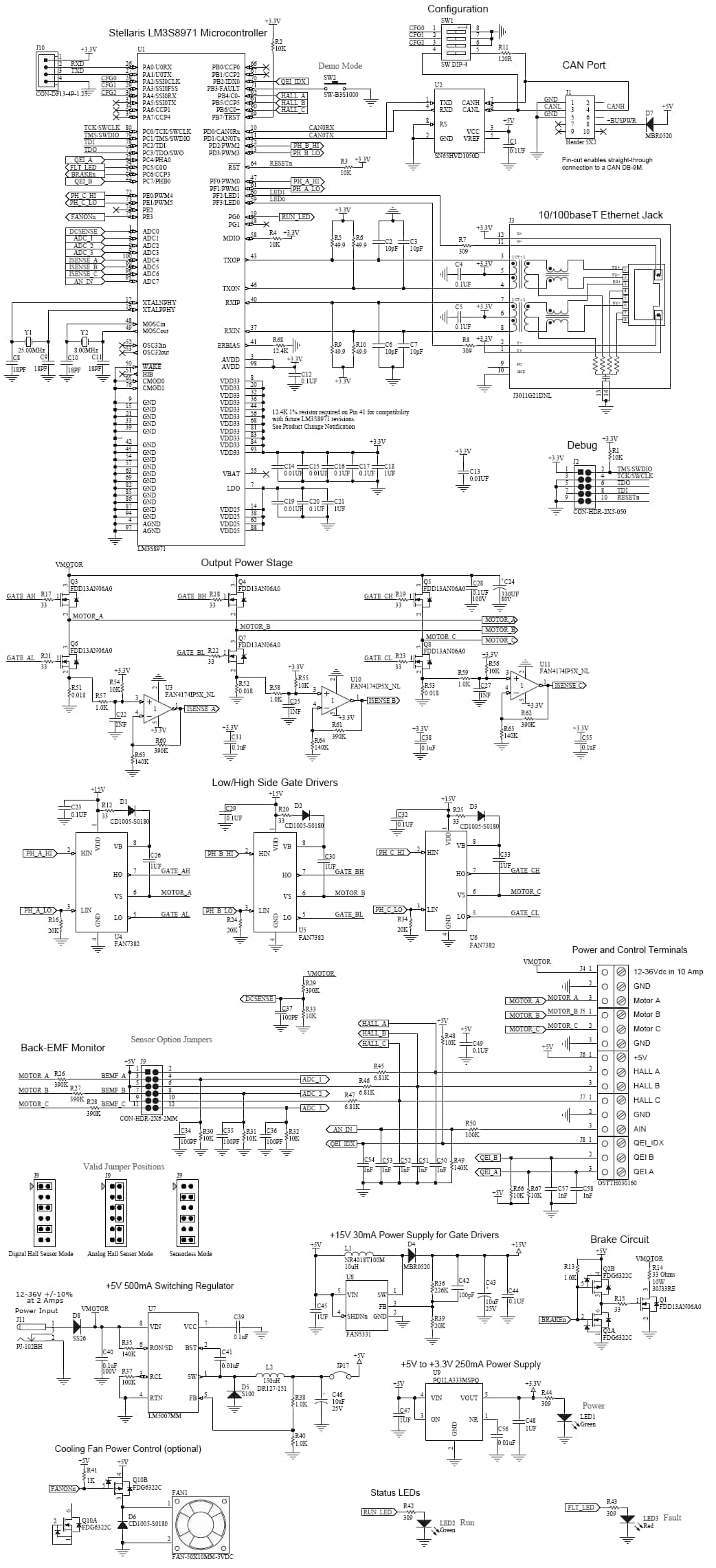 Brushless Motor Speed Controller Schematic Auto Electrical Wiring Audio Gt Amplifiers Signal Amplifier With 2n2222 L7432 Nextgr Related