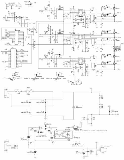 small resolution of steval ihm021v2 100w pmsm motor driver 110 230v digikey 10 schematic diagram of variable frequency