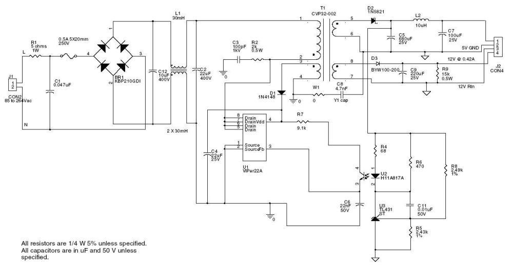 medium resolution of switching power supply schematics schematic reference designs digikey electronics schematic