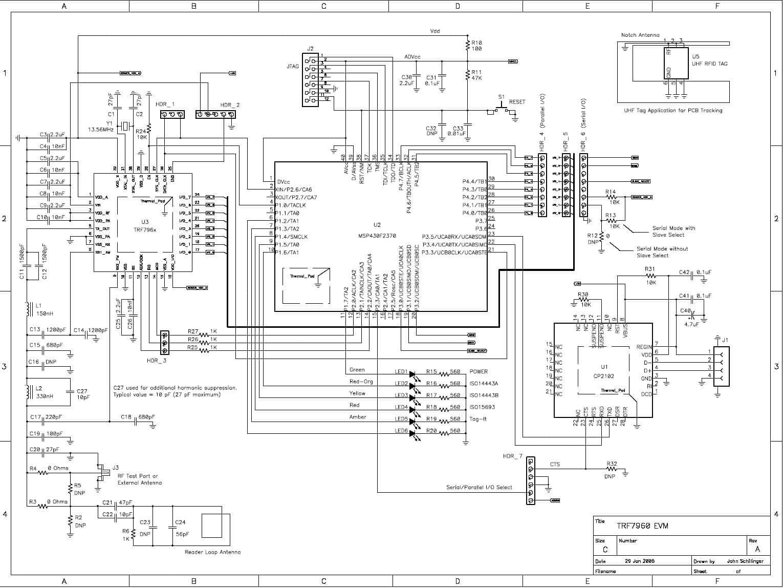 Trf Evm Rfid Reader Writer 13 56 Mhz