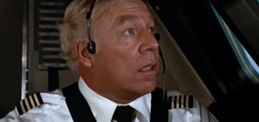George Kennedy in Airport 79.