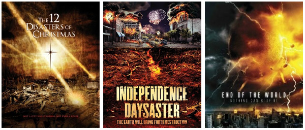 12 Disasters Of Christmas.Cinetel Films Destroy The Holidays Disaster Movie World
