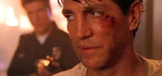 Eric Roberts in Heaven's Fire.