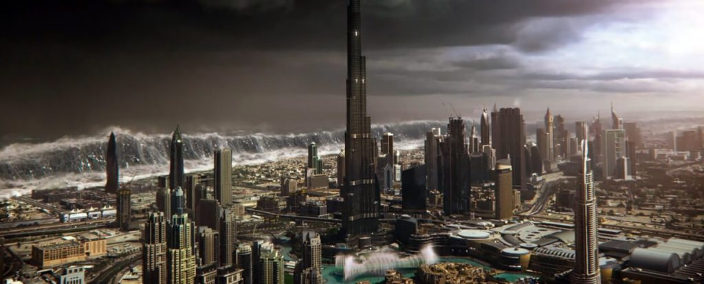 Dubai gets flooded in Geostorm.