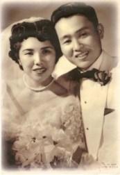 Henry & Helen Yasuda's wedding photo, 1954