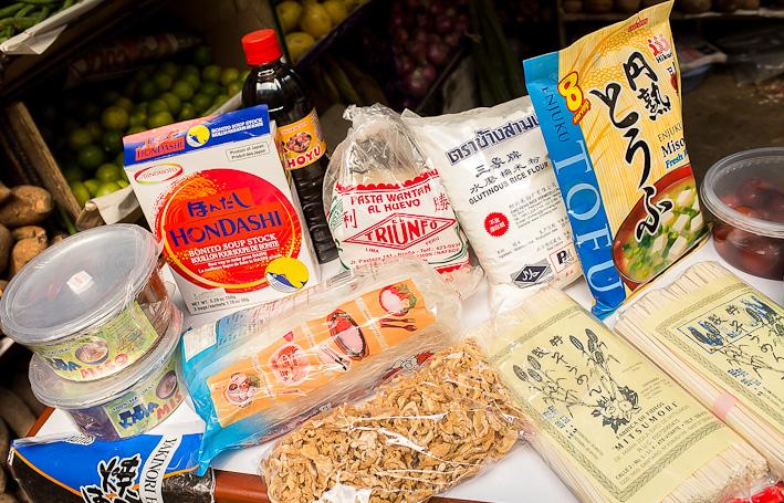 De Japn a los mercados En busca de los ingredientes de