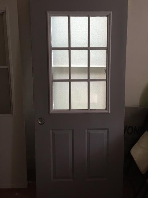36 inch front door
