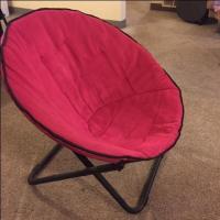Pink Round Chair - Nex-Tech Classifieds