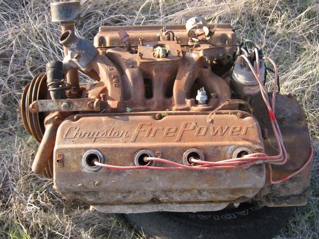 331 CID Chrysler Hemi Engine ID C53849953  For Parts  PTCI Classifieds