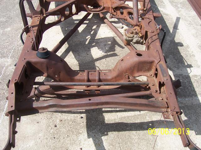 Rust Free 1946 1947 1948 Ford Car Frame  NexTech Classifieds