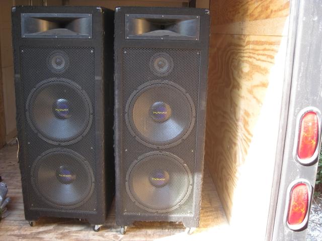 Welton Pro Studio home theater DJ speakers  PTCI Classifieds