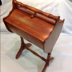 Antique Sewing Chair Hammock Stands Diy Beautiful Vintage Walnut Wooden Stand - Nex-tech Classifieds