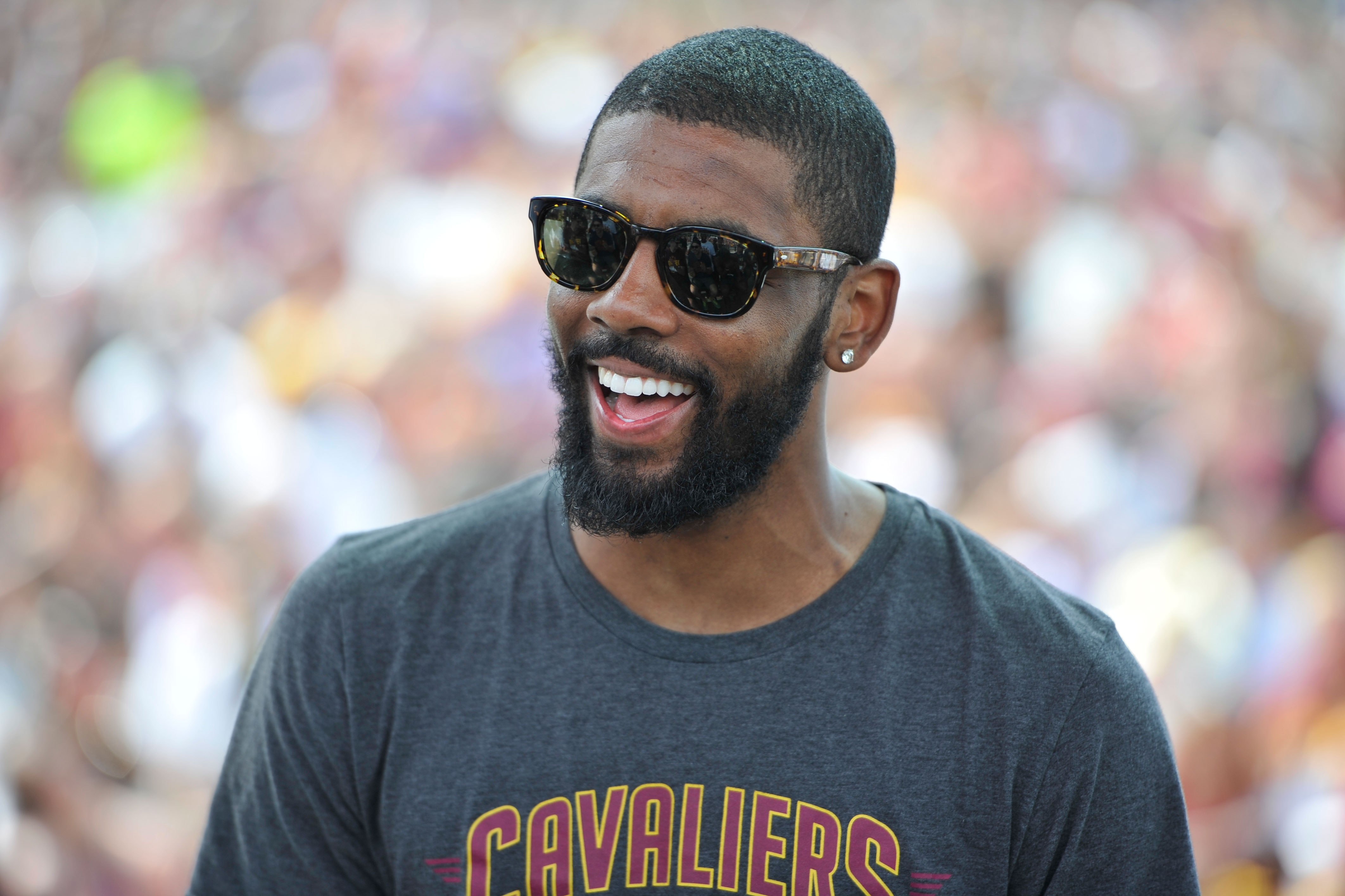 Kyrie Irving In Trouble For Chilling With White Chicks