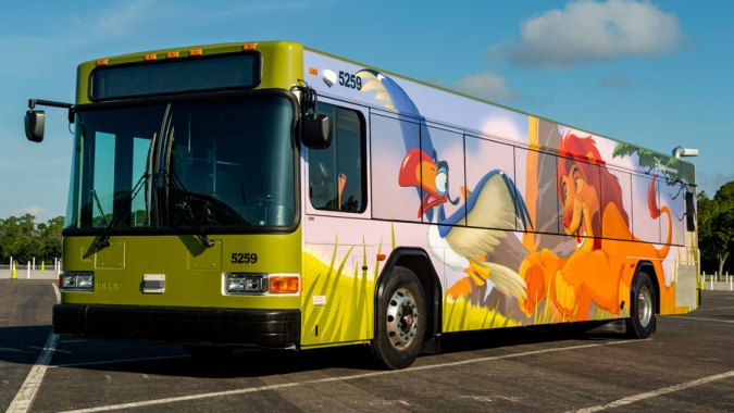The Lion King Bus