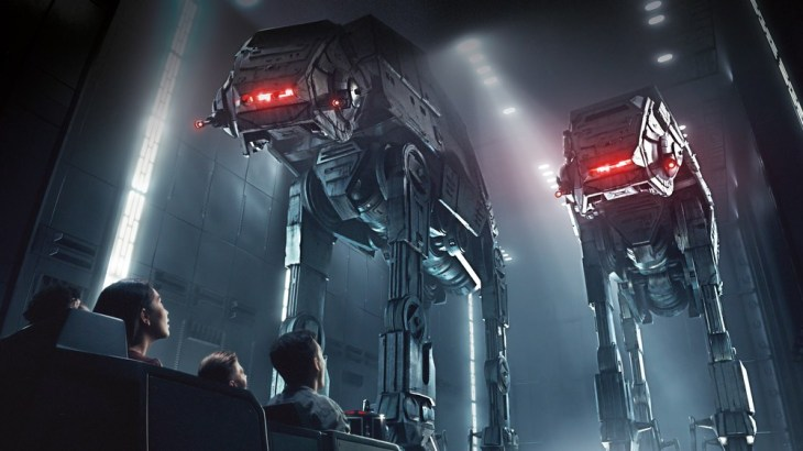 Star Wars: Rise of the Resistance - concept art released by Disney