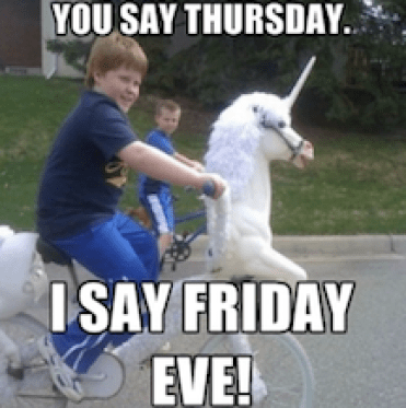 20 Hilarious Friday Eve Memes for Everyone to Share