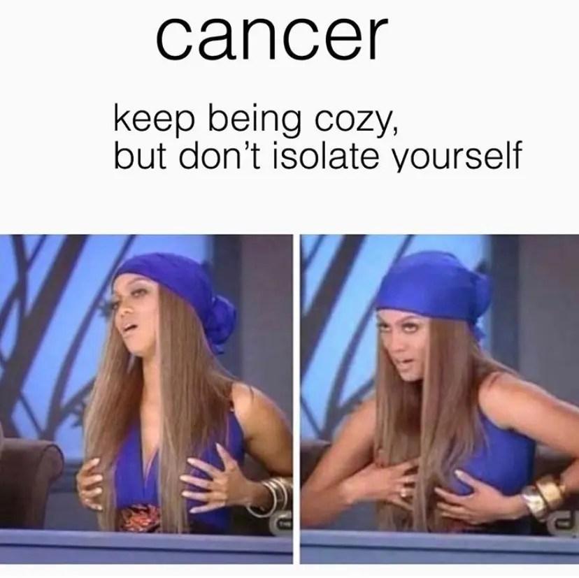 25 cancer season memes
