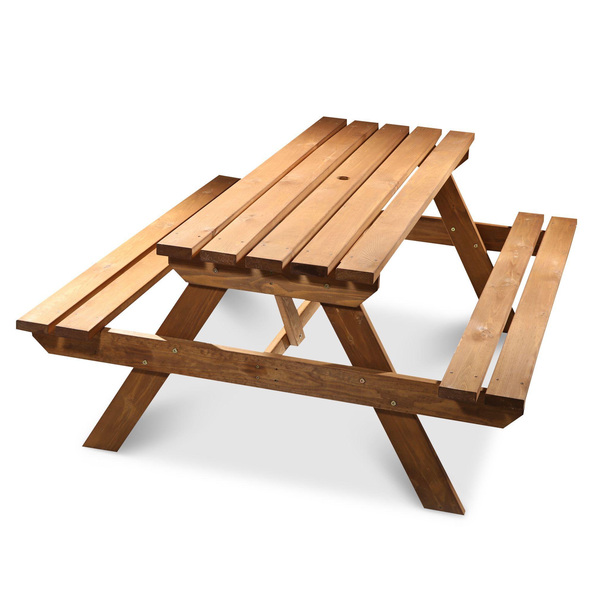 agad wooden picnic bench