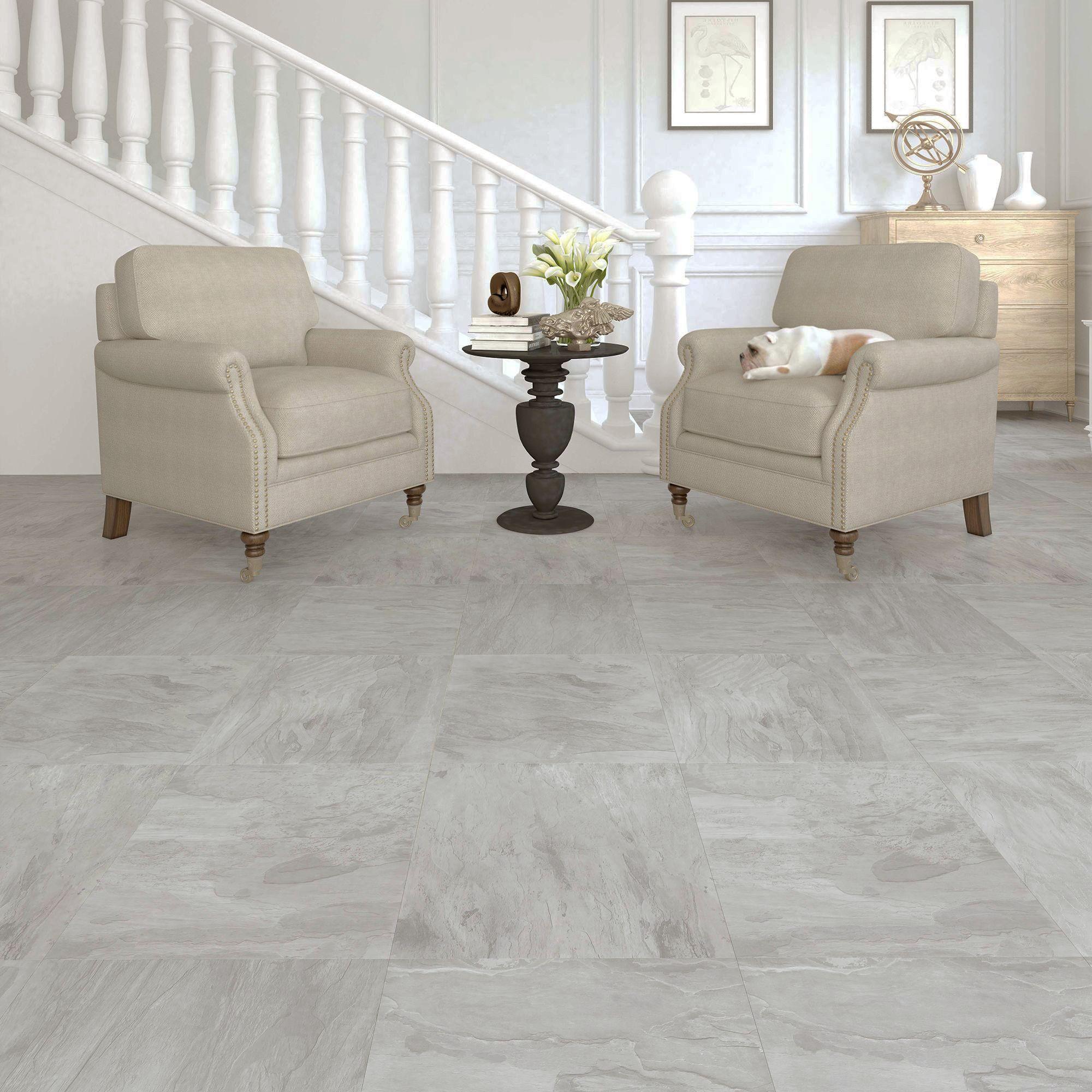 colours leggiero light grey slate effect laminate flooring 1 86m pack