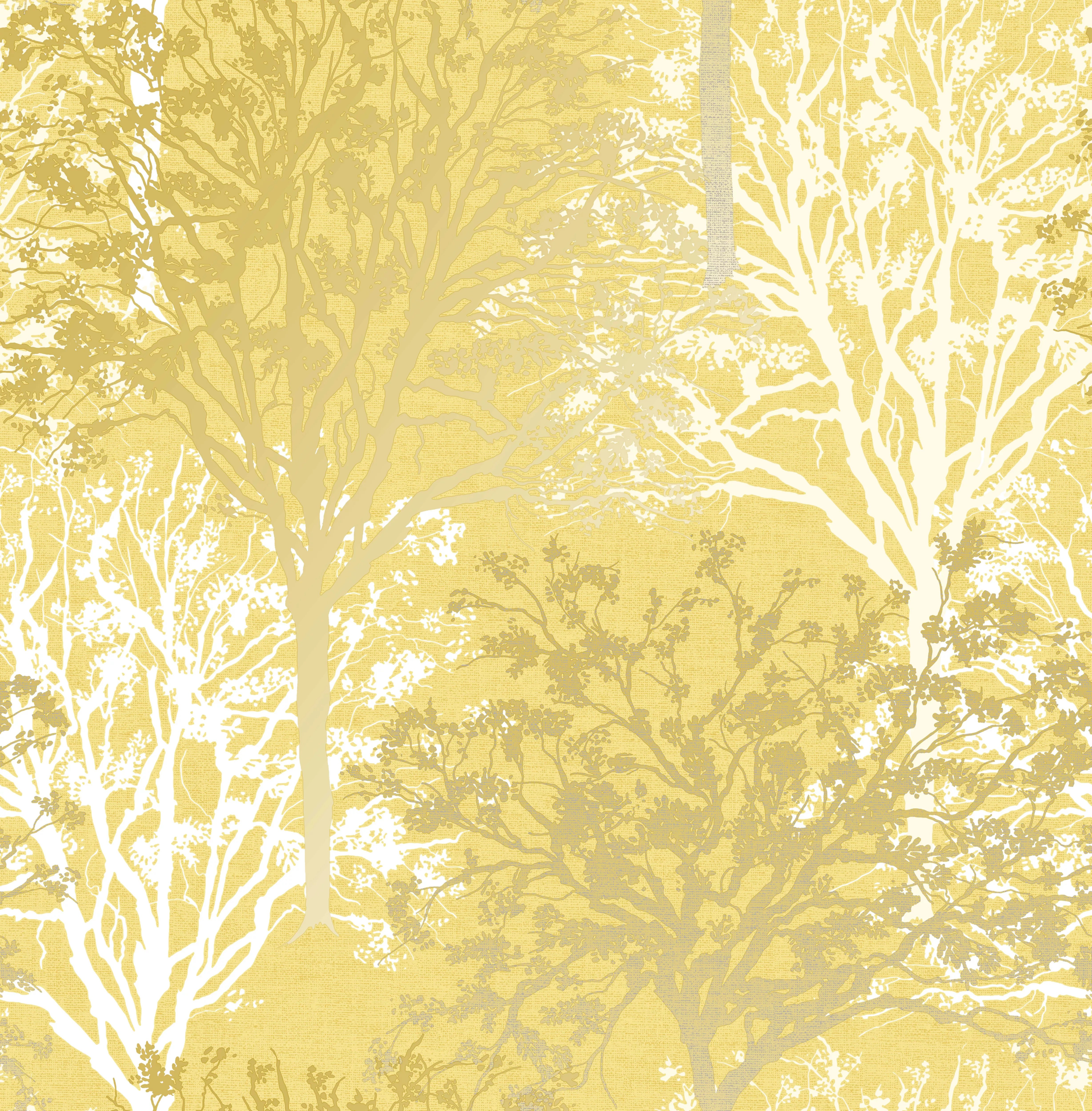 Plus painting and decorating tips from a which? Graham & Brown Boutique Arbre Yellow Tree Mica effect