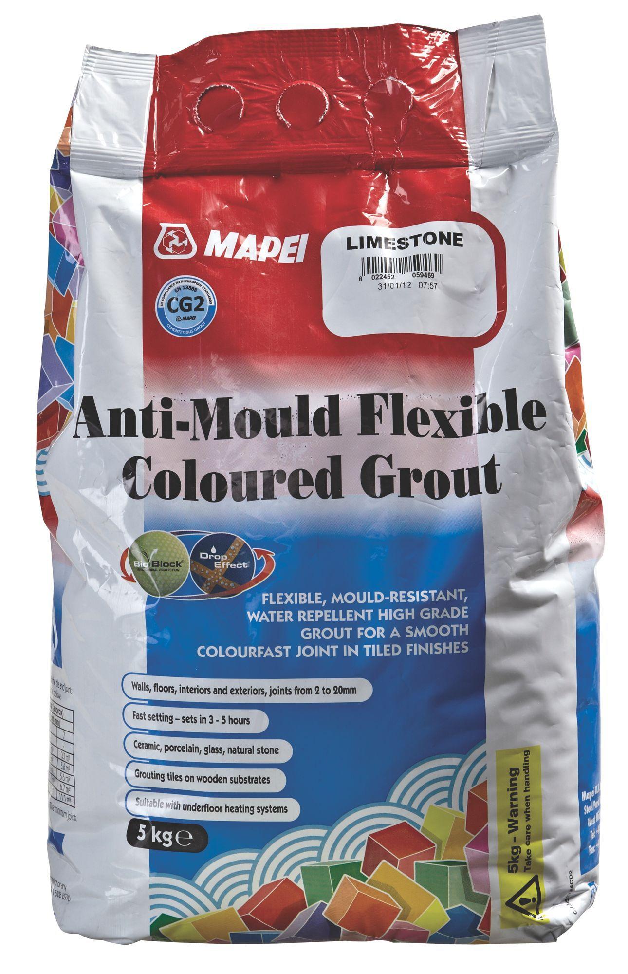mapei limestone grout 5kg