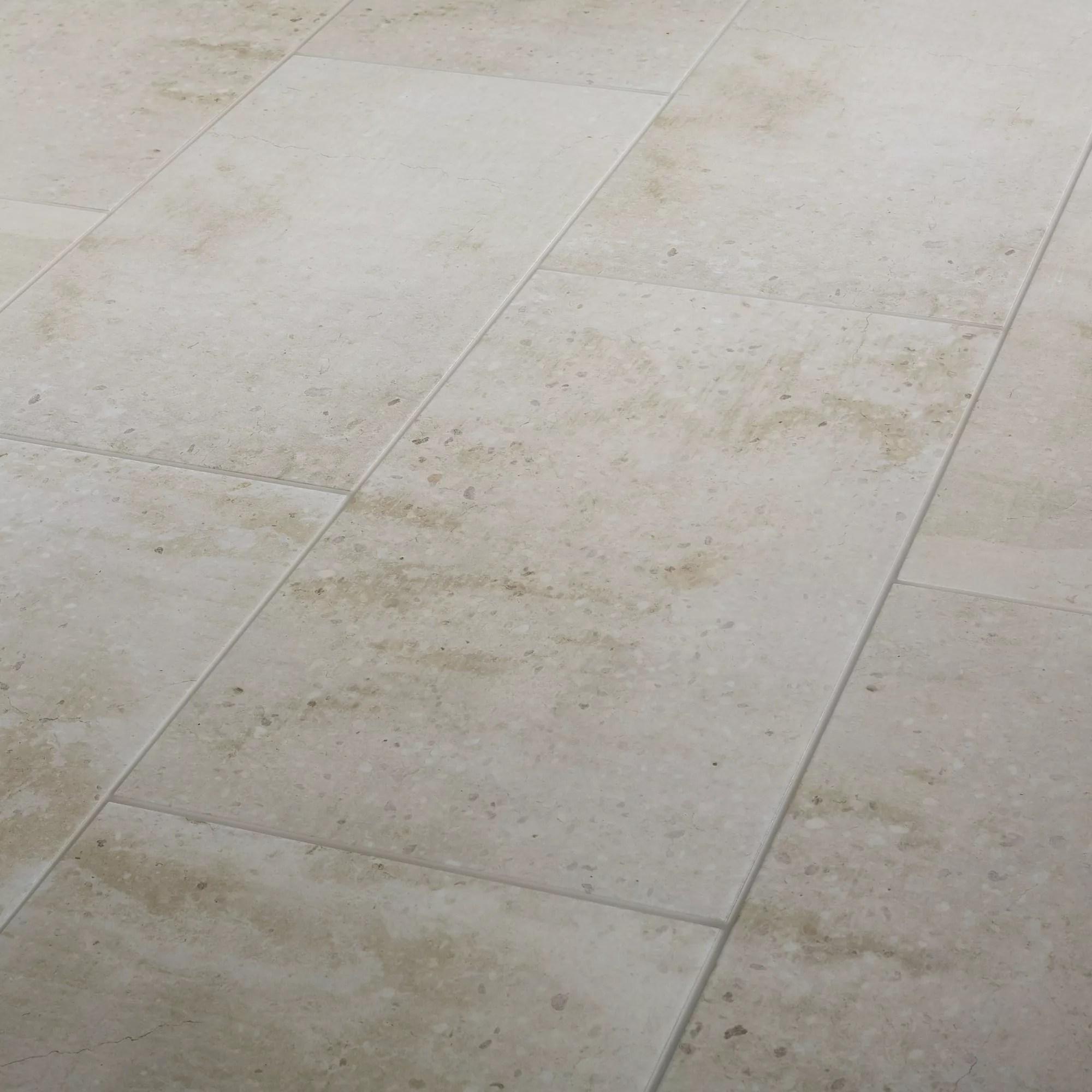 reclaimed off white matt concrete effect porcelain floor tile pack of 6 l 600mm w 300mm