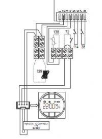 Connecting 3 wire thermostat to 2 wire volt free boiler