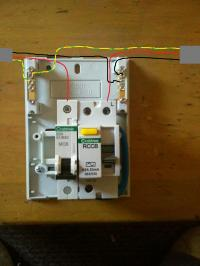 Installing RCCD and MCB for shower HELP!! | DIYnot Forums