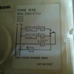 Drayton Wireless Room Stat Wiring Diagram 2003 Dodge Ram Infinity Replacement For Rte Thermostat - Diynot.com Diy And Home Improvement