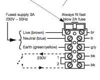 basic electrical wiring: Wiring Diagram Boiler