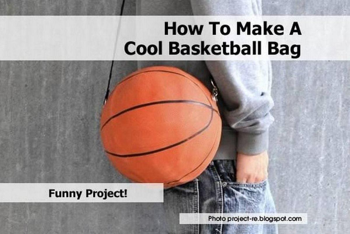 How To Make A Cool Basketball Bag