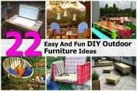 Diy Outdoor Furniture Ideas | www.imgkid.com - The Image ...