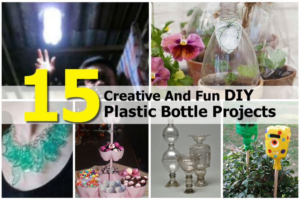 15 Creative And Fun Diy Plastic Bottle Projects