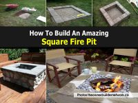 How To Build An Amazing Square Fire Pit