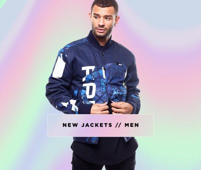 Mens New Jackets