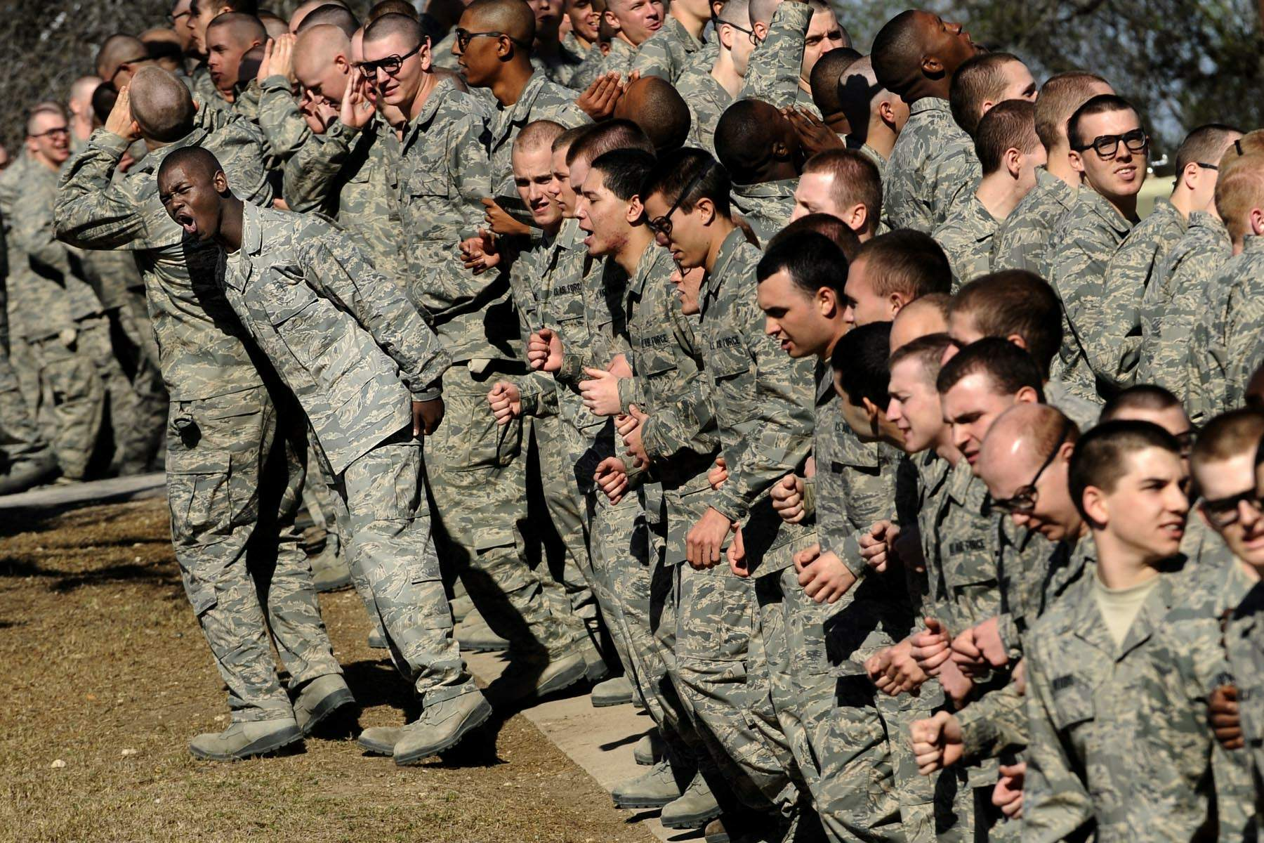 Military Training Instructors Transform Recruits Into