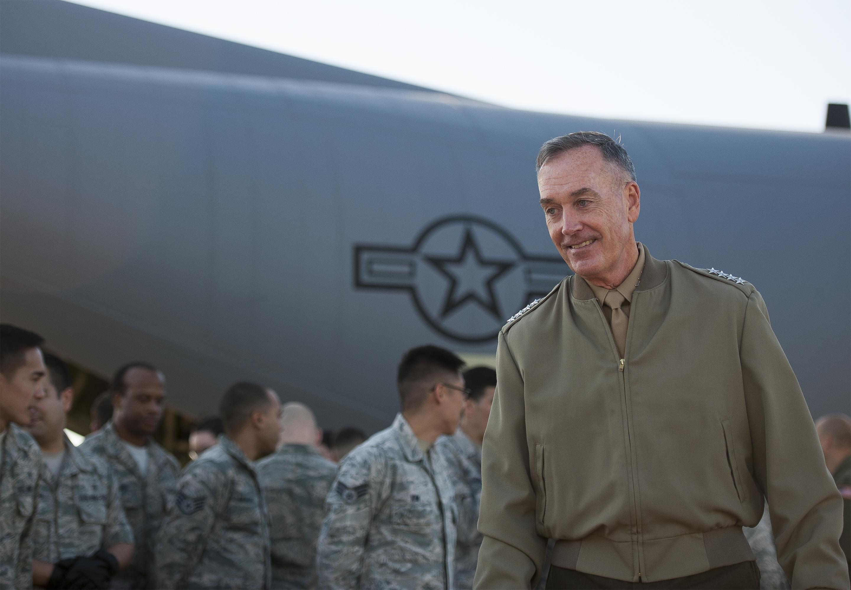 War On Terrorism Special Operators In Syria Must Be Viewed In Context Dunford Says