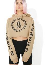 rebel8 immortals crop hoodie