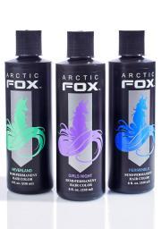 arctic fox neverland hair dye