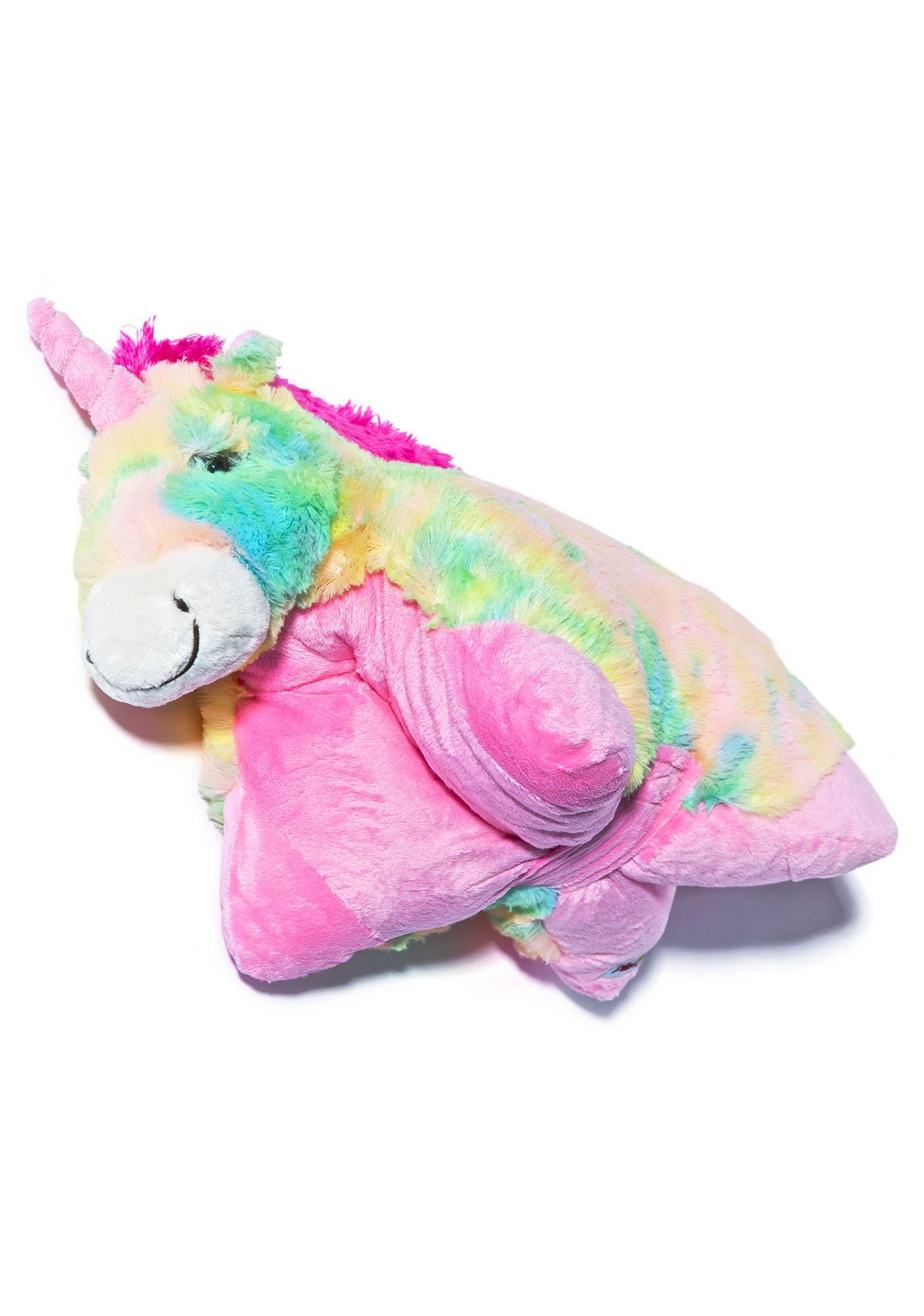 Pillow Pets Rainbow Unicorn Pillow  Dolls Kill