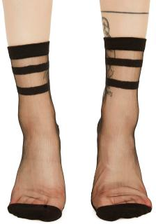 Sugar Thrillz RIVER STYX SHEER ANKLE SOCKS