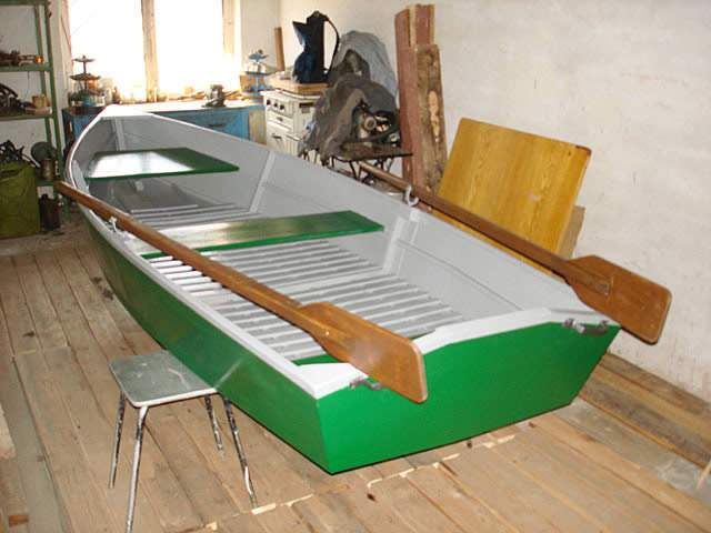 Wie man ein Boot mit deinen eigenen Händen herstellt: Baum und Sperrholz - Bester Fischh der Fischer