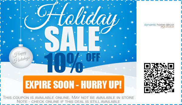 Dynamic Home Decor Coupons 10 Off Promo Code 2017