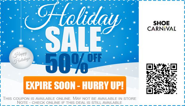 SHOE Carnival Coupons 50 off Coupon Promo Code 2017