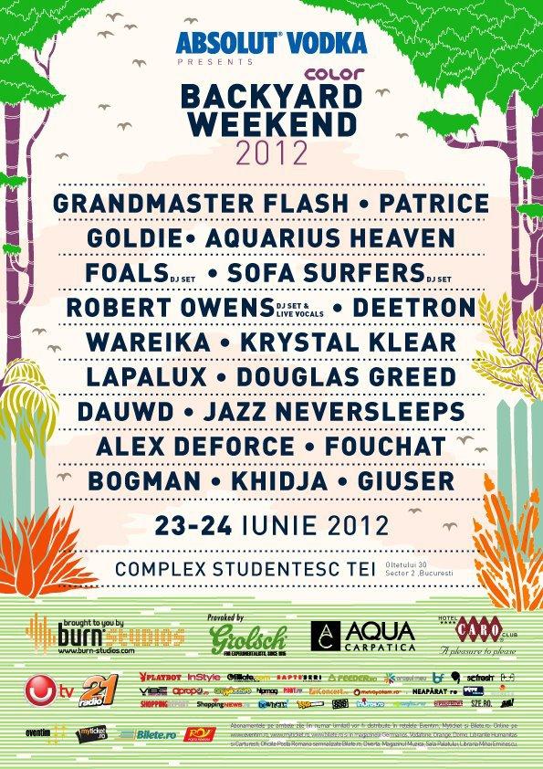 Backyard Weekend 2012