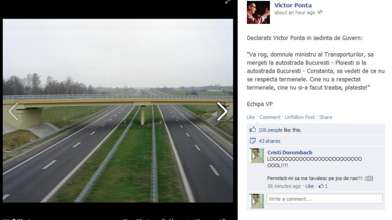 Gluma autostrazilor. Oare se deschide Bucuresti – Ploiesti?