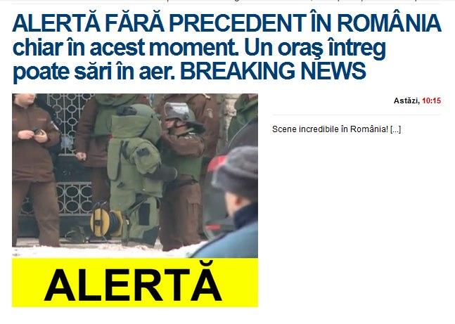 BREAKING: BOMBA NUCLEARA la Piatra Neamt!